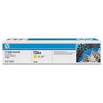 SOTTOCOSTO-HP 126A LaserJet original toner cartridge yellow standard capacity 1.000 pages 1-pack - CE312A